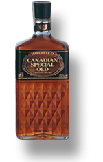 Canadian special old whiskey