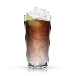 Absolut vanilia with Cola