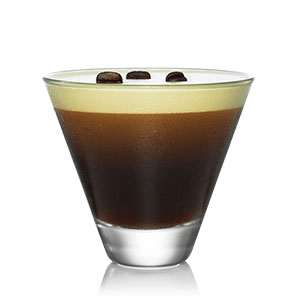 Kahlua cold brew martini